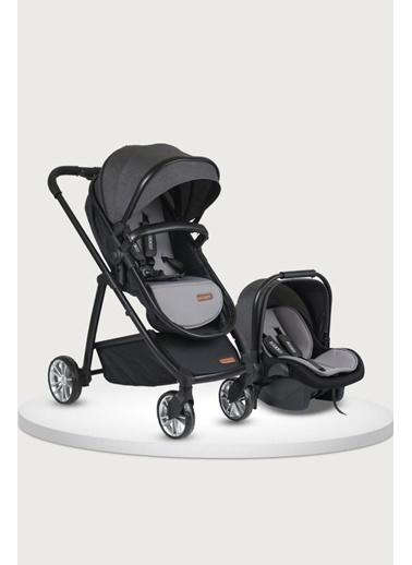 Tommy Baby Quantum Black New Travel (Seyahat) Sistem Bebek Arabası Füme
